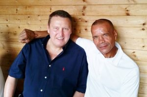 Rocky and Gary Hobbs, still pals after all these years.